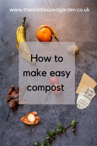 How to make easy compost