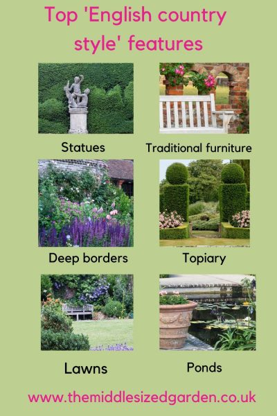 Top English country garden style features