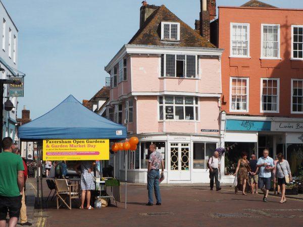 Visit Faversham Open Gardens & Garden Market Day