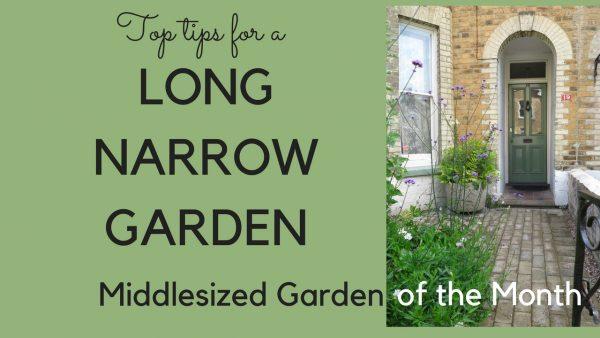 Long narrow garden video tips