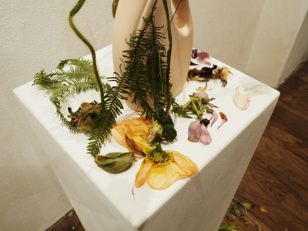 Re-wilding floral installation