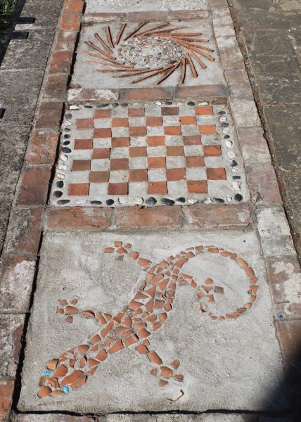 Creative pavers in Whitstable Open Gardens