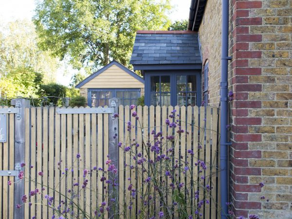 Style your garden to work with your house