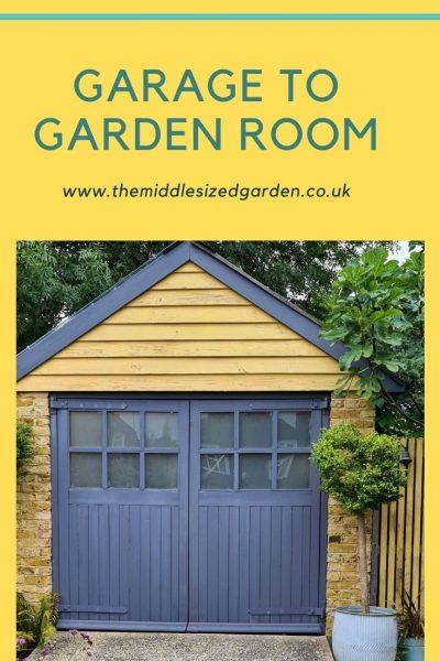 From garage to garden room