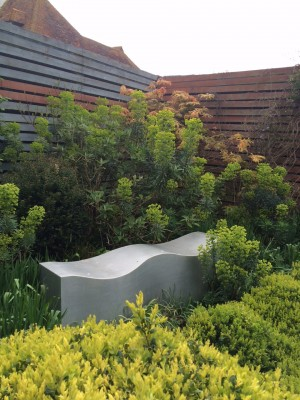 Benches can be works of art for the garden