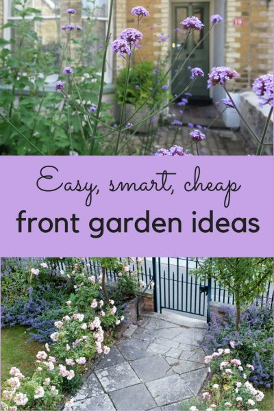The best front garden ideas smart easy and cheap the for Basic garden maintenance