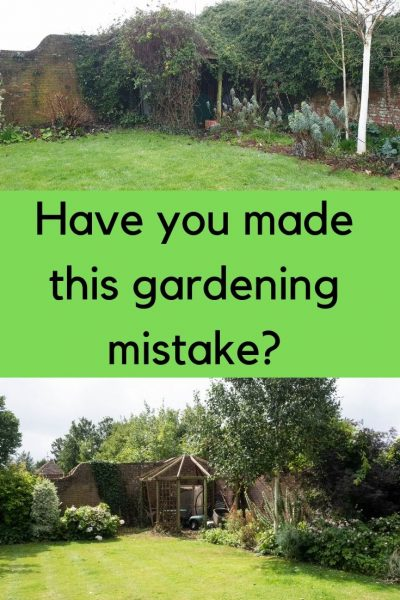 Possibly the worst gardening mistake you can make?