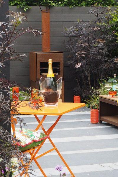 Outdoor room garden