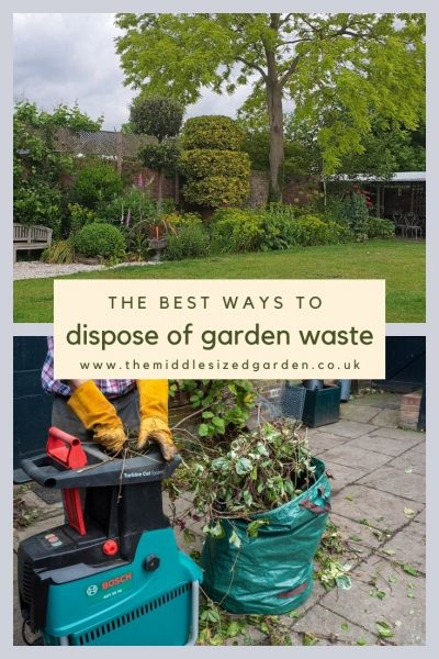 Garden waste ideas