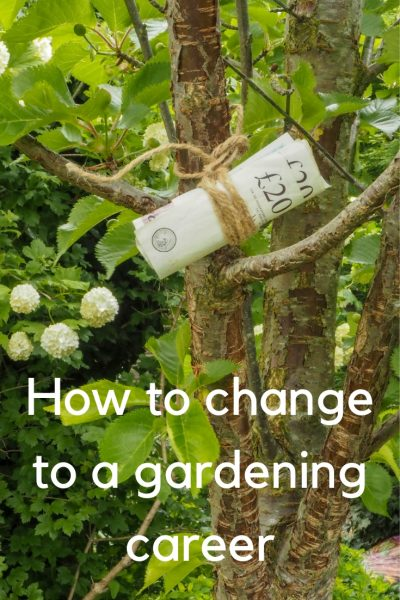 How to change your life with a gardening career