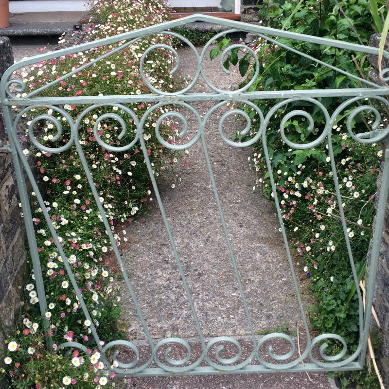 Romantic garden gates