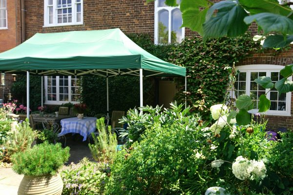 Create an extra room with a gazebo