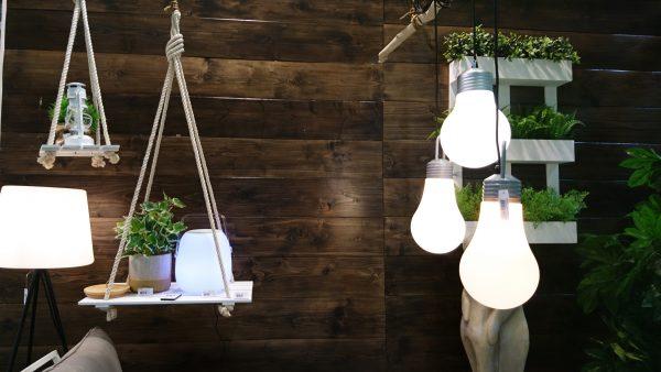 Solar lighting for the garden