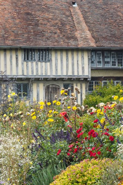 The Long Border at Great Dixter in October