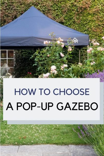 How to choose a pop-up gazebo