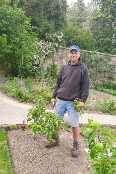 Gravetye Manor head gardener Tom Coward