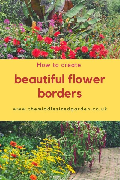 How to create a beautiful flower border