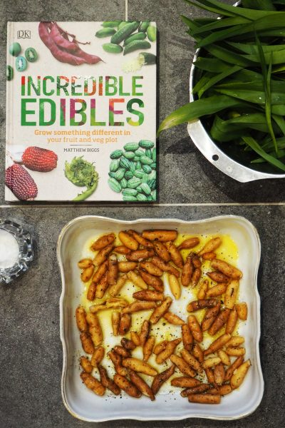 Edible daylilies and more exciting plants you can eat from Incredible Edibles by Matthew Biggs