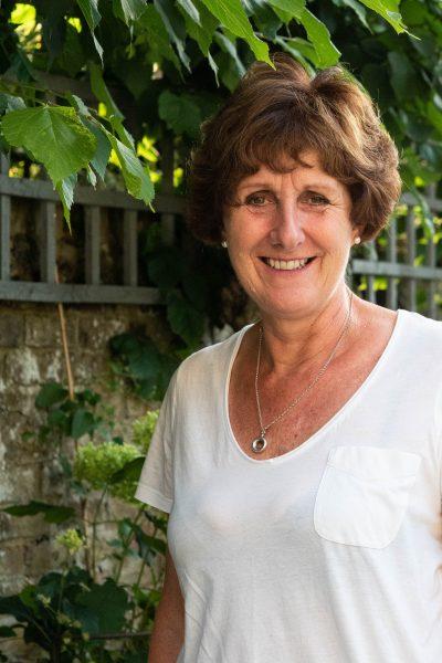 Garden designer Jane Beedle