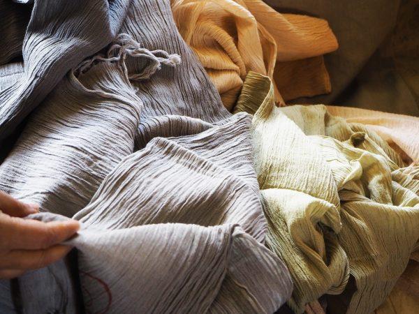 Juniper & Bliss organic hand-dyed cotton