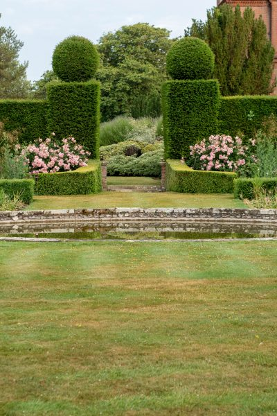 The Sunk Garden at Doddington Place Gardens