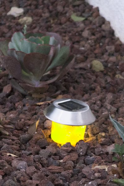 Solar light illuminating path
