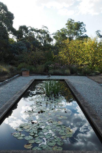 Garden design ideas - use local materials