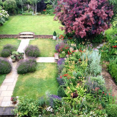 Keep a photographic record of your garden