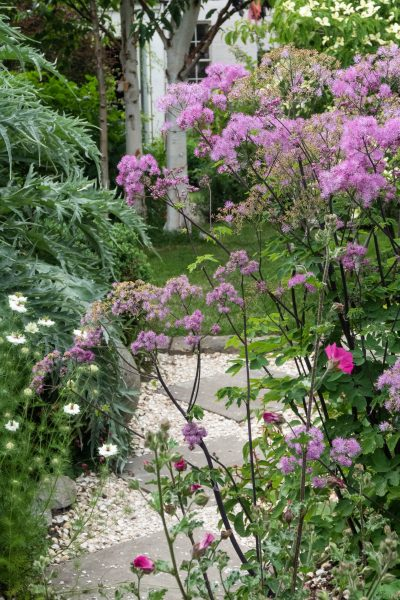 Airy planting works well in small gardens
