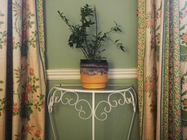 1970s style indoor garden pot
