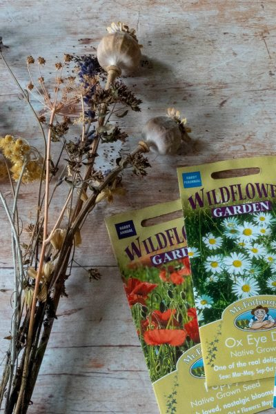 202 garden trends include wild flower seeds from Mr Fothergill