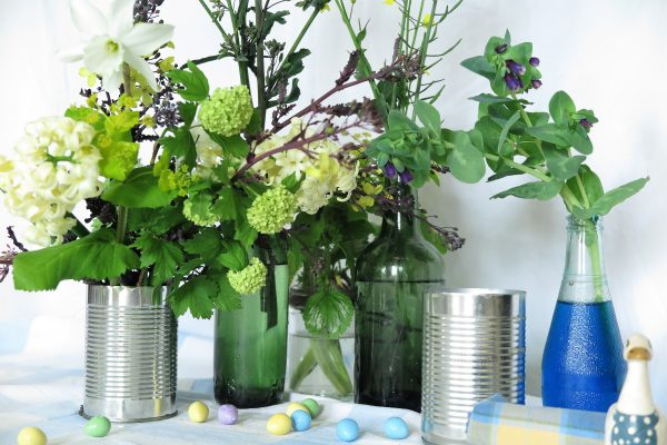 Clever recycling Easter tips