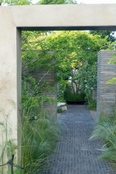 The RHS Sanctuary Garden at RHS Hampton Court 2019