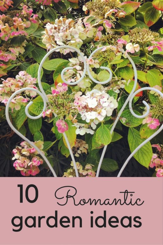 Romantic garden ideas