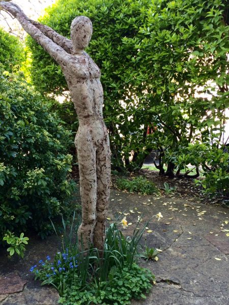 Garden sculpture by Mary Anne Nicholson