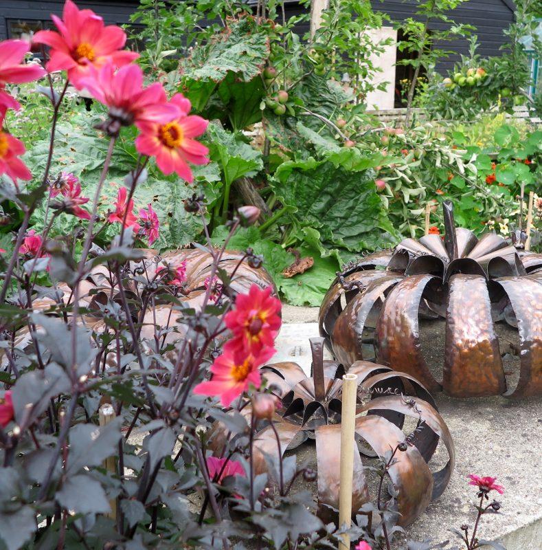 The Salutation garden in Sandwich.
