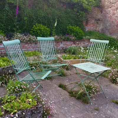 Make garden furniture part of your colour scheme