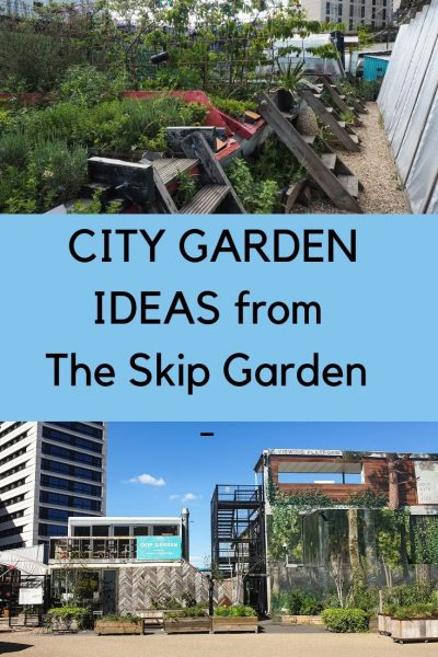 City garden ideas from The Skip Garden