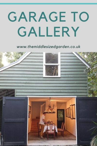 From garage to gallery room