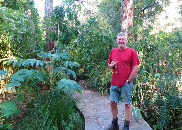 Stephen Ryan's exotic garden