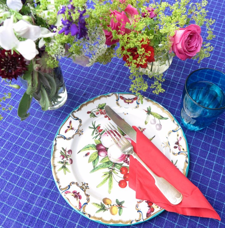 Picnic plates for summer garden parties