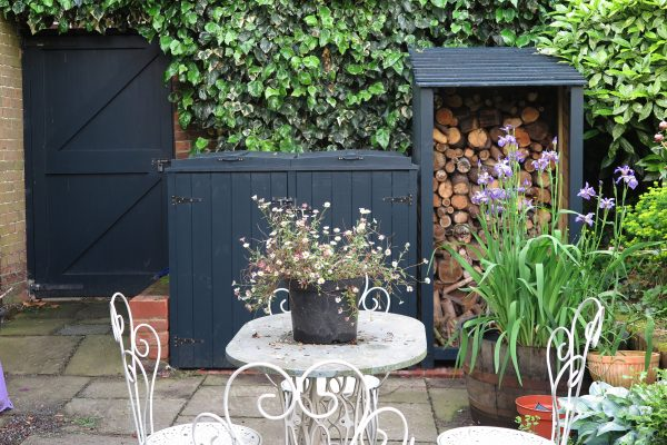 Use paint to style your garden