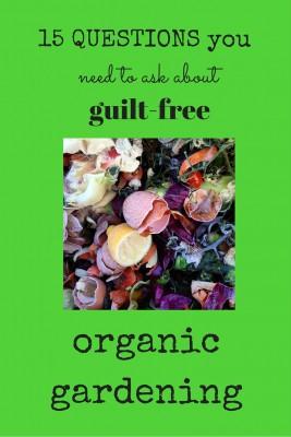 Tips for guilt-free 'green' gardening