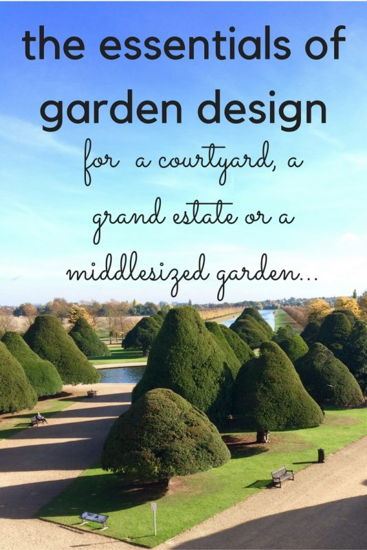The essentials of garden design apply to all sizes of garden