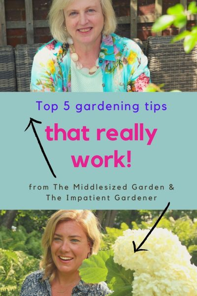 Erin and Alexandra top garden tips