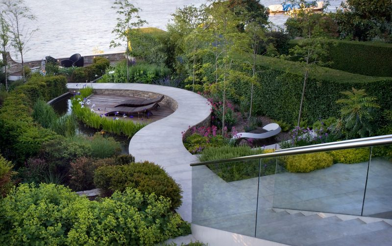 'Tributary' garden designed by Andy Sturgeon