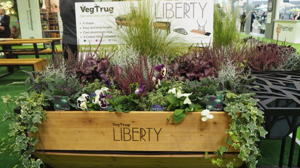 Raised bed planters make vegetables easy to grow