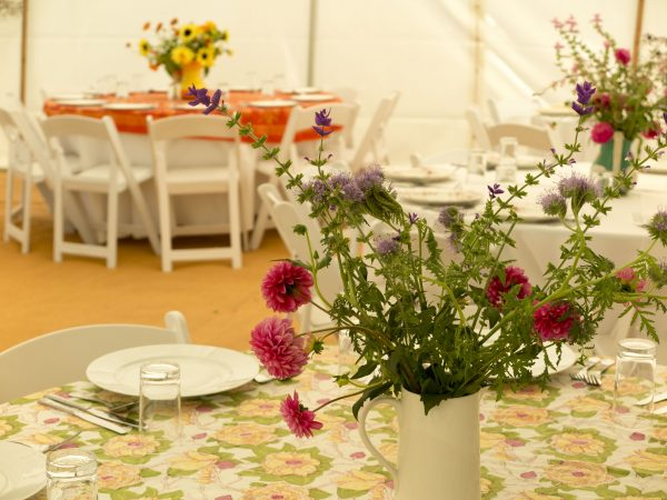 Marquee decoration tips