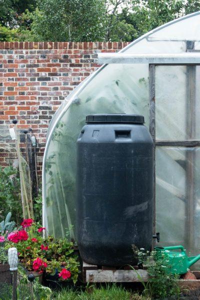 Water butt used for homemade fertilisers