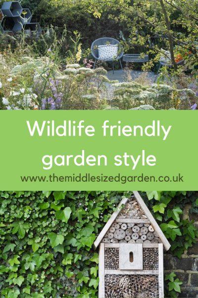 Wildlife friendly garden ideas